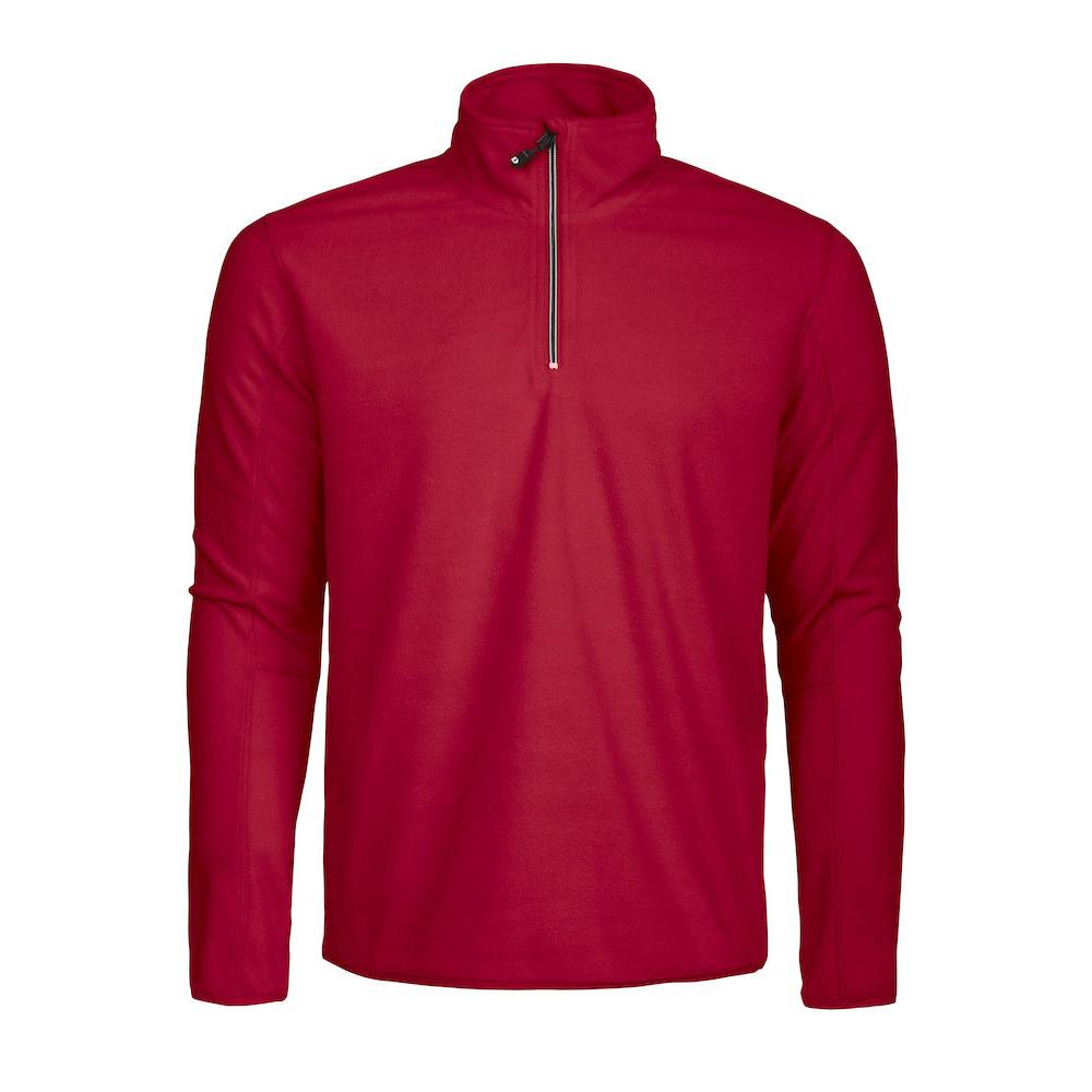 New Wave MELTON HALF ZIP | Farbe: rot