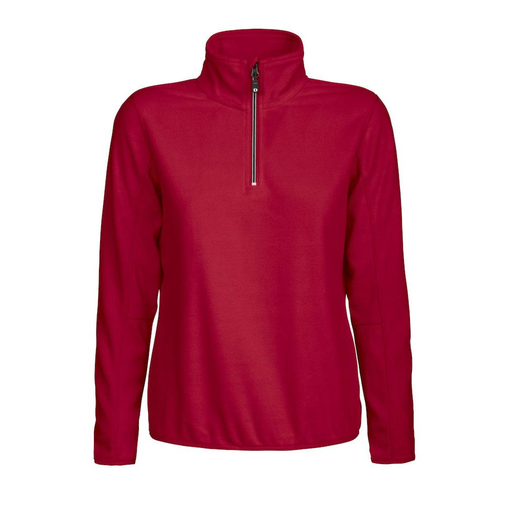 New Wave MELTON LADY HALF ZIP | Farbe: rot
