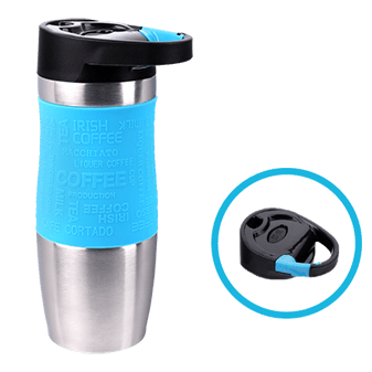 Click-on Deckel vom PRESIT Mug - Coffee to Go Becher