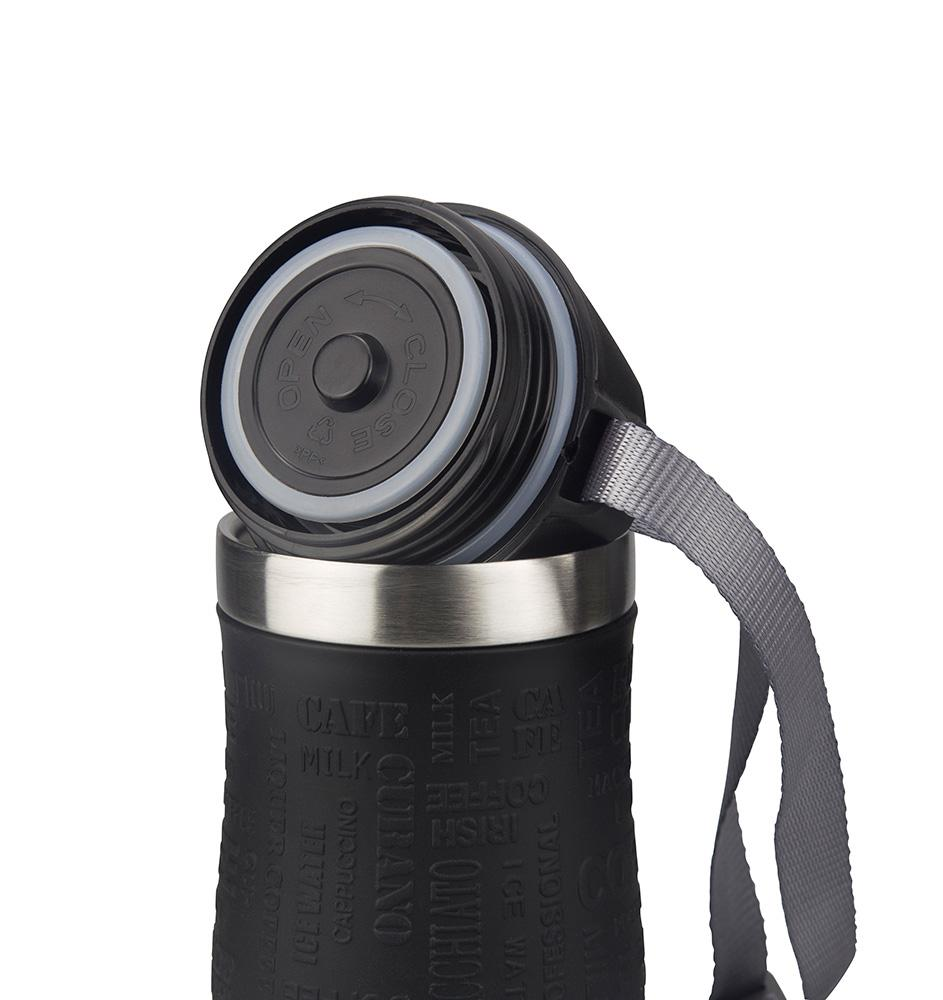 PRESIT Coffee 2 Go Becher – Schreibverschluss und Deckeldichtung