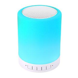 Ambient Speaker hellblauer Lichtwechsel