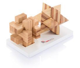 Geduldspiel aus Holz als Werbeartikel mit Logo gestalten