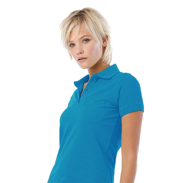 Damen Polo-Shirt 180 g/m2 SAFRAN PURE WOMEN POLO PW455 - Atoll - Poloshirts
