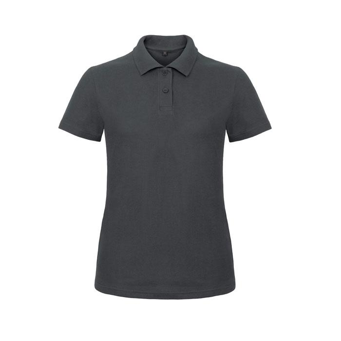 Damen Polo Shirt 180 g/m2 PIQUE POLO ID.001 WOMEN PWI11 - Anthracite - Poloshirts