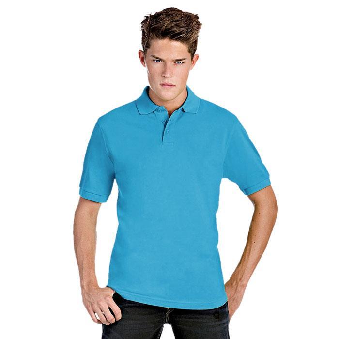 Herren Polo Shirt 180 g/m2 PIQU# POLO SAFRAN PU409 - Atoll - Poloshirts