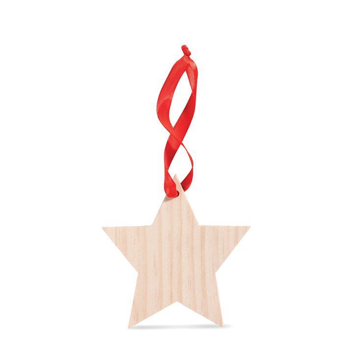 Anhänger WOOSTAR - Weihnachtsdekoration