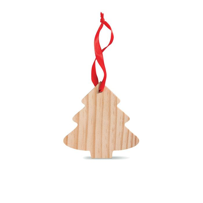 Anhänger Tanne WOOTREE - Weihnachtsdekoration