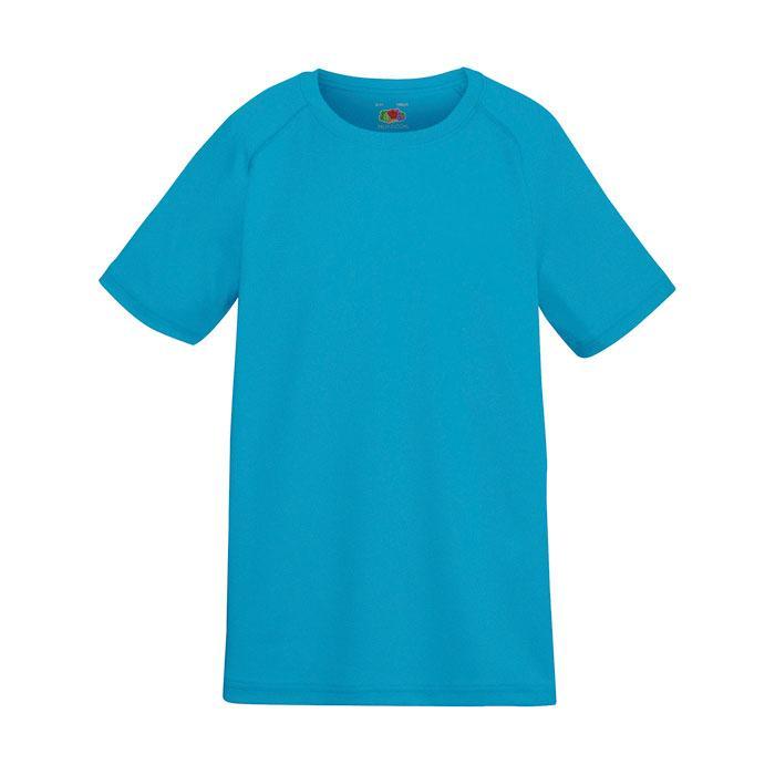 Kinder T-Shirt Sport KIDS PERFORMANCE 61-013-0 - Azure Blue - T-Shirts