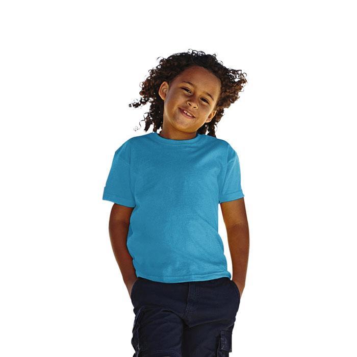 Kinder T-Shirt 165 g/m² KIDS VALUE WEIGHT 61-033-0 - Azure Blue - T-Shirts