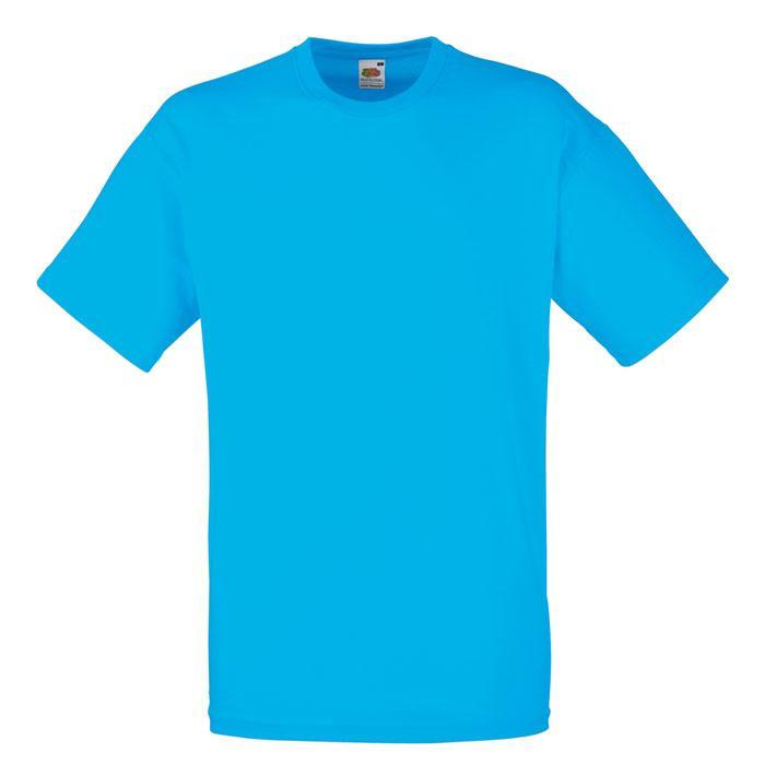 T-shirt 165 g/m² VALUE WEIGHT T-SHIRT 61-036-0 - Azure Blue - T-Shirts