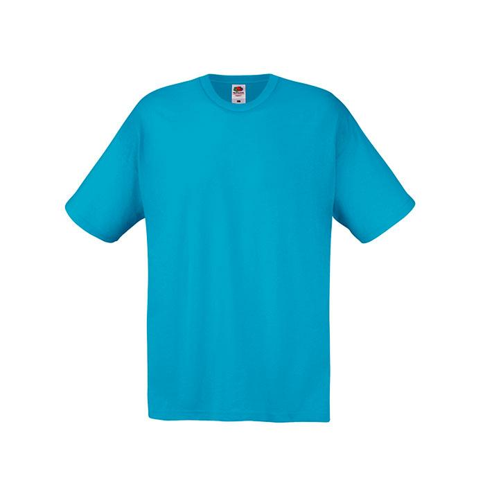 Herren T-Shirt 135/145 g/m2 ORIGINAL FULL CUT 61-082-0 - Azure Blue - T-Shirts