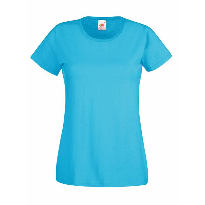Damen T-Shirt 160/165 g/m2 LADY-FIT VALUE WEIGHT 61-372-0 - Azure Blue - T-Shirts