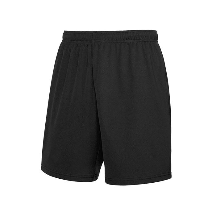 Unisex Sporthose PERFORMANCE SHORT 64-042-0 - Black/Black Opal - Hosen