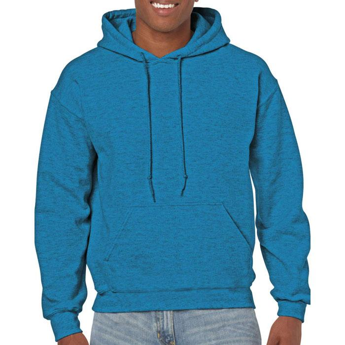 Unisex Sweatshirt 255/270 g/ HEAVY BLEND HOODED SWEAT 18500 - Antique Sapphire - Sweatshirts