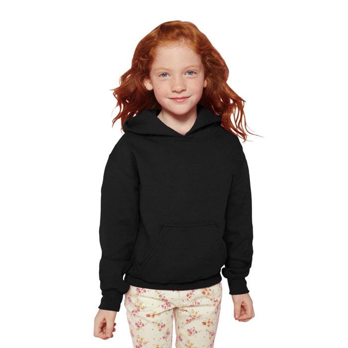 Kinder Sweatshirt 255/270 g/ BLEND HOODED SWEAT KIDS 18500B - Black/Black Opal - Sweatshirts