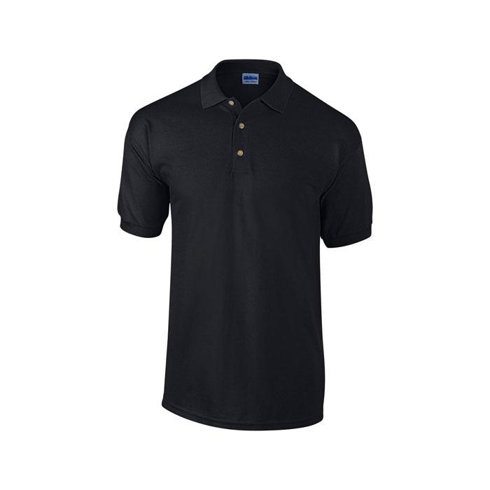 Unisex Polo Shirt 240 g/m2 HEAVY PIQUE POLO 3800 - Black/Black Opal - Poloshirts