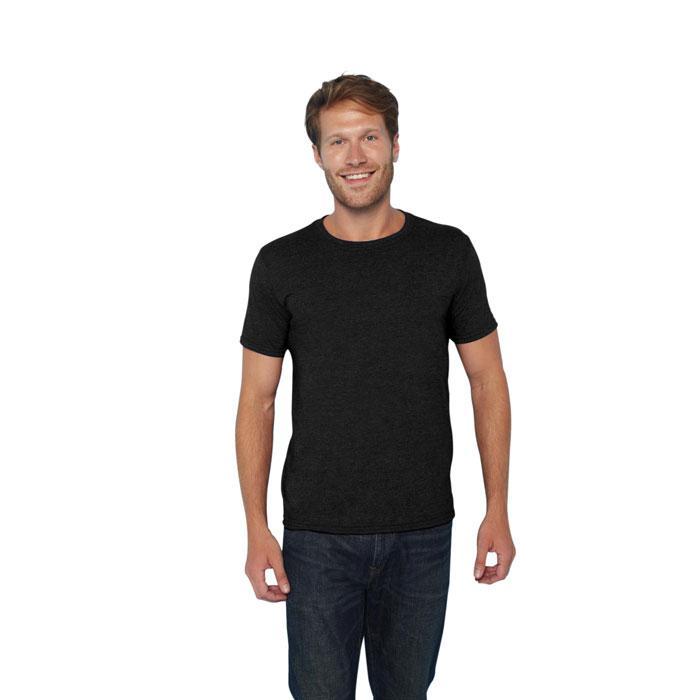 Herren T-Shirt 141/150 g/m RING SPUN T-SHIRT 64000 - Black/Black Opal - T-Shirts