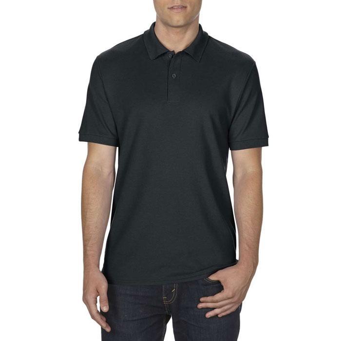 Herren Polo Shirt 207/220 DRYBLEND DOUBLE PIQU# 75800 - Black/Black Opal - Poloshirts