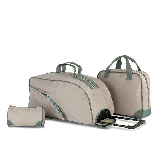 3-teiliges Reisetaschen-Set HUBEI - Reisetaschen