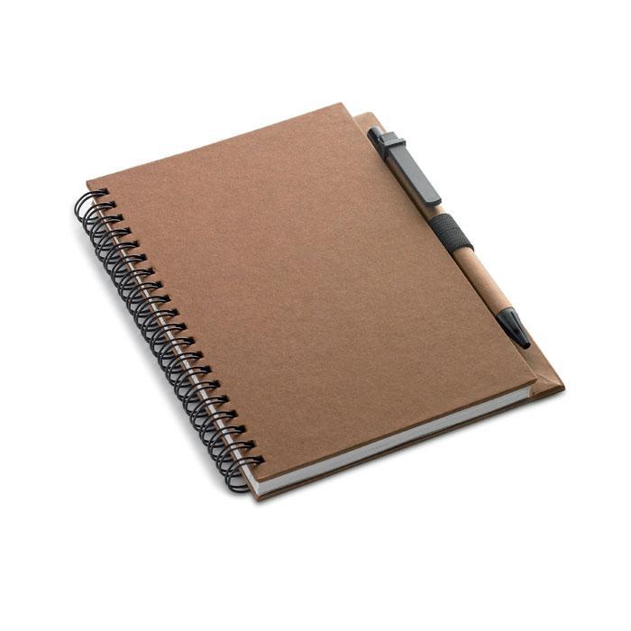 Block mit Kugelschreiber COLOBLOC - Notizbücher