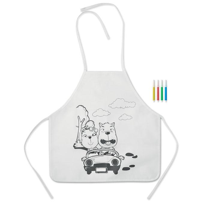 Kochschürze für Kinder PAINT&COOK - Schürzen