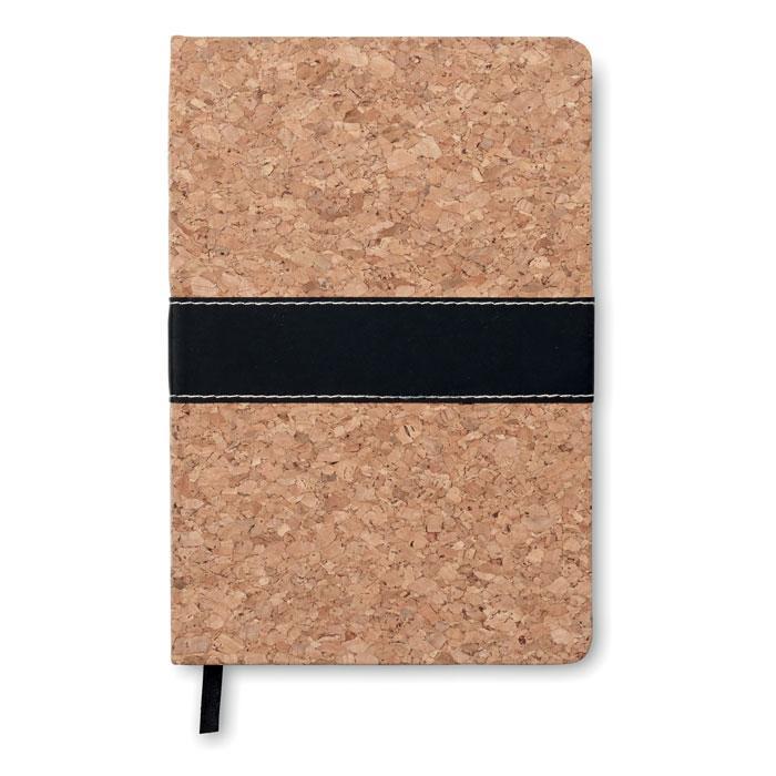 DIN A5 Notizbuch mit Kork SURO - Notizbücher