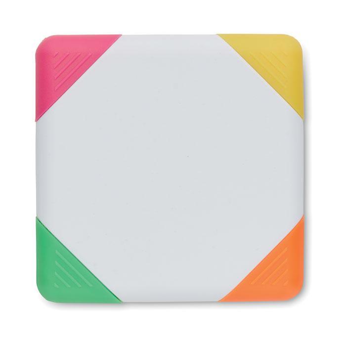 4-Farb-Textmarker SQUARIE - Textmarker