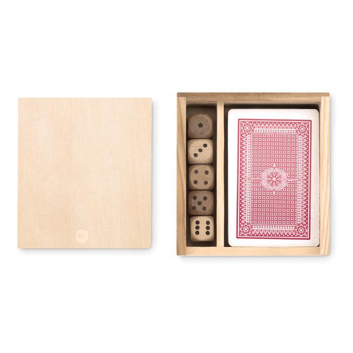 Spielkarten-Würfel-Set LAS VEGAS - Spielsets