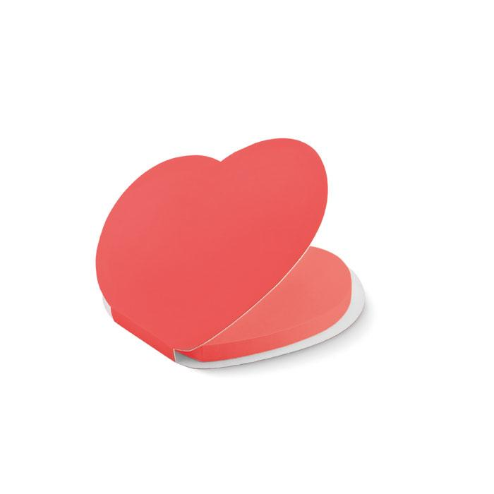 Klebezettel Herz LOVE - Haftnotizen