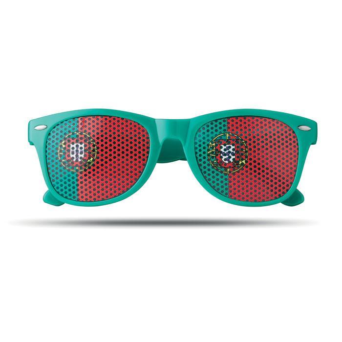 Fan Sonnenbrille FLAG FUN - Fanartikel
