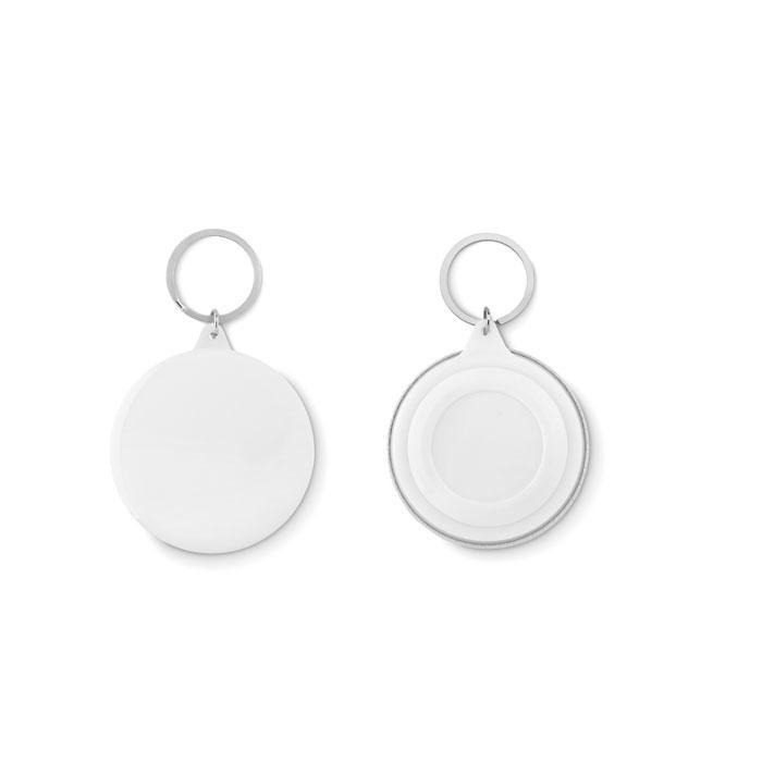 Badge Schlüsselanhänger PIN RING - Schlüsselanhänger