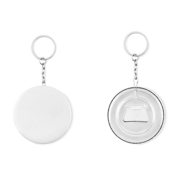 Badge Schlüsselanhänger PIN FLASK - Schlüsselanhänger