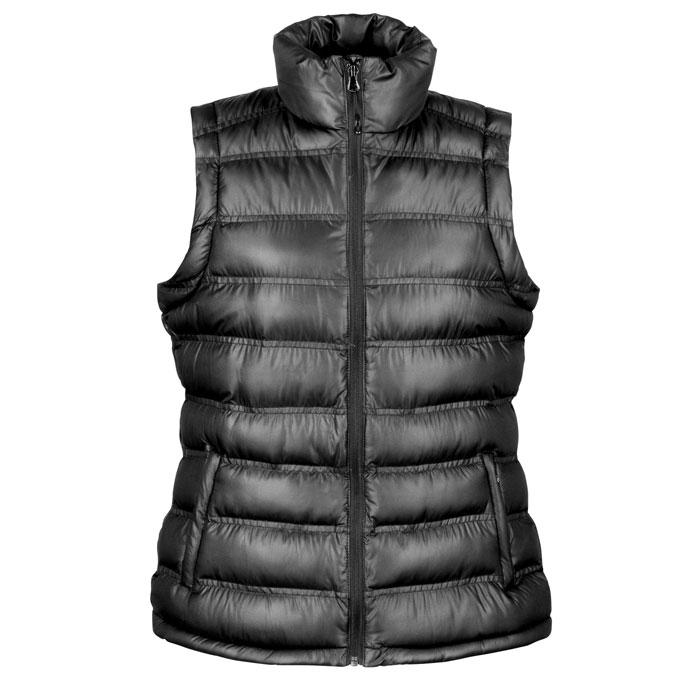Damen Bodywarmer / Weste LADIES ICE BIRD GILET R193F - Black/Black Opal - Westen