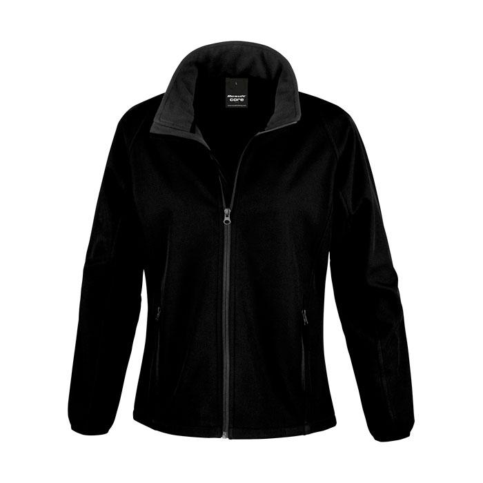 Damen Soft Shell 280 g/m2 SOFT SHELL JACKET LADIES R231F - Black/Black Opal - Jacken