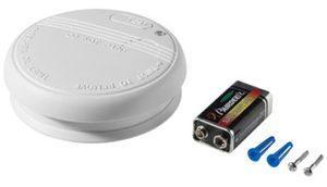 Bedruckte Rauchmelder mit Logo - inkl. Batterie und Montagezubehör