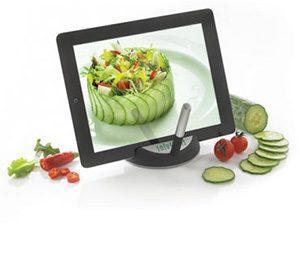 Werbeartikel Tablet-Ständer mit Logo bedrucken lassen – Tolle Idee für Küche und Gastronomie
