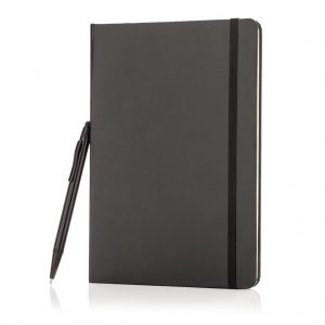 Basic Hardcover A5 Notizbuch mit Stylus