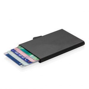 C-Secure Aluminium RFID Kartenhalter