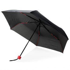 """Faltbarer 21"""" Fiberglas Regenschirm"""