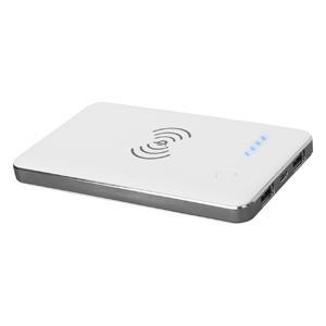 Qi-Ladegeräte auch mobil nutzen – induktive Powerbank mit Ihrem Logo als Werbeartikel gestalten!