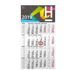 4-Monats-Wandkalender als Werbeartikel bedrucken