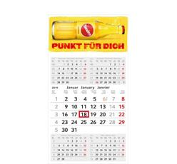 5-Monats-Wandkalender als Werbeartikel bedrucken
