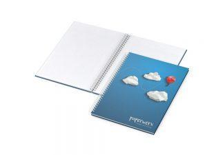Bizz-Book A4-Plus Cover-Star matt-individuell - Werbeartikel bedrucken