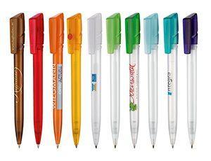 Ritter-Pen Kugelschreiber in vielen verschiedenen Farben und Designs.
