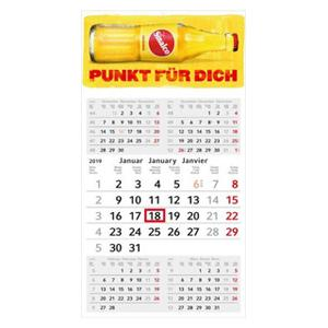 5-Monatskalender für die Wand mit Logo und Motiv im PRESIT Werbemittel Online-Shop bedrucken