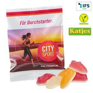 Katjes Jogger Gums - Süße Werbeartikel mit Logo bedrucken