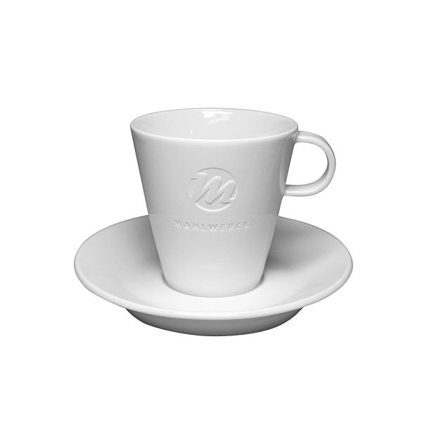 Mahlwerck Cappuccinotasse Form 700 - Mit Logo