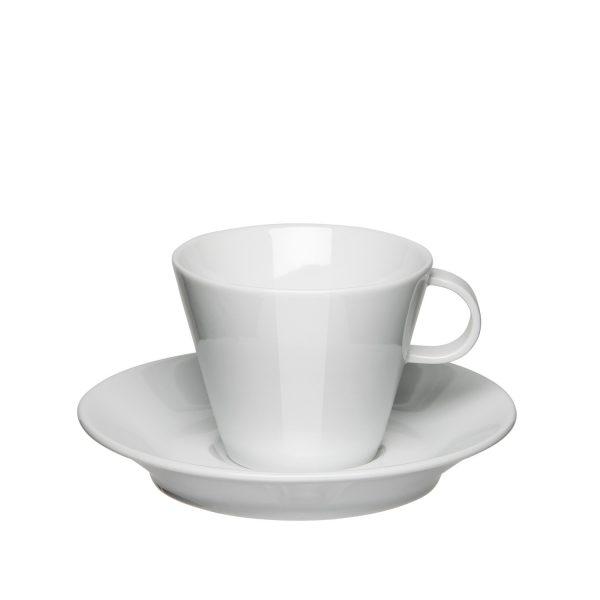 Mahlwerck Kaffeeteasse Form 701 - Mit Untertasse von oben