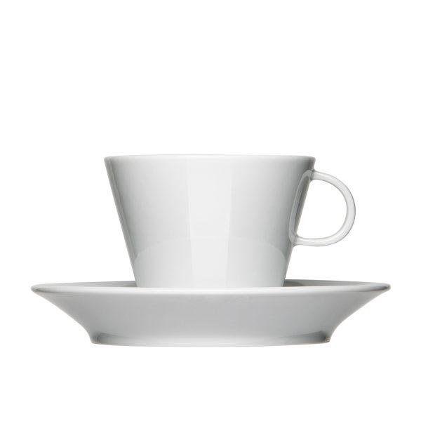 Mahlwerck Kaffeeteasse Form 701 - Ansicht Tasse und Untertasse von vorne