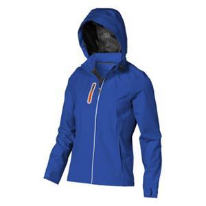 Wetterfeste Softshelljacke mit Kapuze bedrucken lassen im PRESIT Werbeartikel Online-Shop